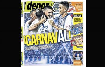 Portadas de los periódicos deportivos locales del lunes 11 de febrero