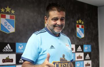 Claudio Vivas y sus primeras declaraciones como técnico de Cristal