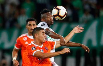 Atlético Nacional eliminó a La Guaira por Copa Libertadores