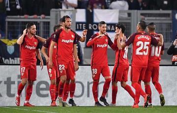 Sevilla sorprende a Lazio en Europa League