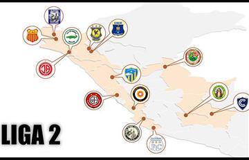 Liga 2: los cinco equipos históricos que jugarán el torneo de ascenso