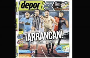 Portadas de los periódicos deportivos locales del viernes 15 de febrero