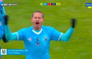 Mira el golazo de Donald Millán ante César Vallejo por Liga 1