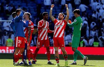 Girona venció al Real Madrid