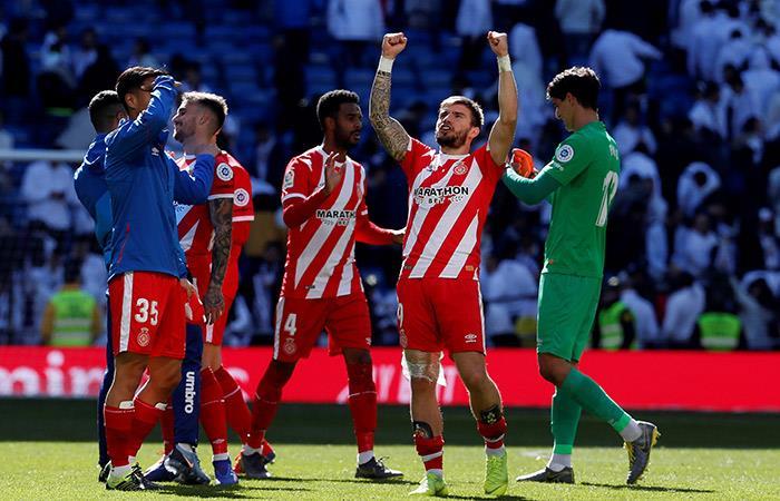 Girona venció al Real Madrid en el mismísimo Santiago Bernabéu por LaLiga