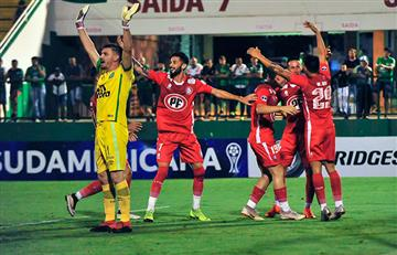 Unión La Calera sigue en la Copa Sudamericana