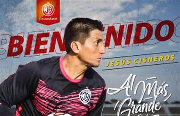 Jesús Cisneros es el nuevo refuerzo del Juan Aurich