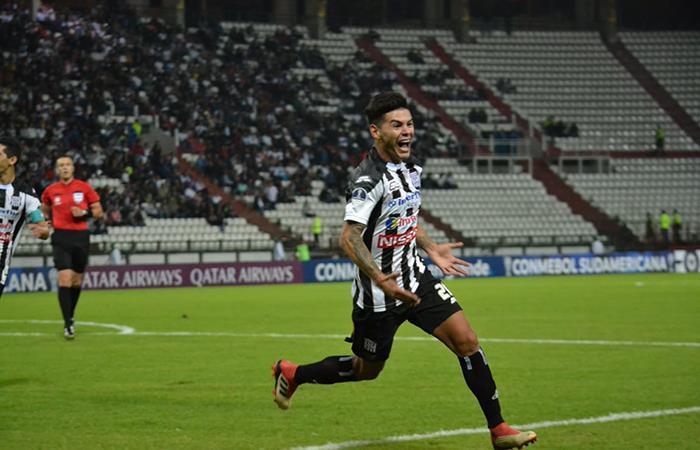 Deportivo Santaní derrotó 2-0 a Once Caldas en Manizales. Foto: Twitter