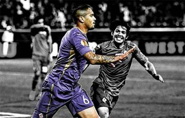 ¡No olvidan a Vargas! Fiorentina le dedicó este mensaje