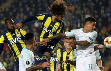 Zenit se impuso al Fenerbahce en la Europa League