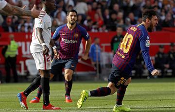 Barcelona venció al Sevilla gracias a Messi