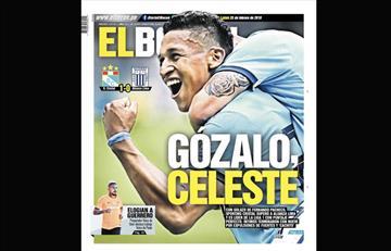 Portadas de los periódicos deportivos locales del lunes 25 de febrero