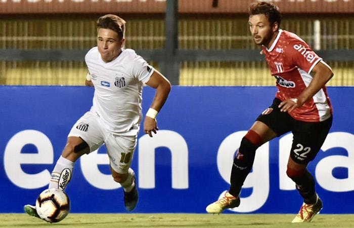 Santos vs River Plate (U) EN VIVO ONLINE con Christian Cueva por la Copa b5fa7860f8d5b