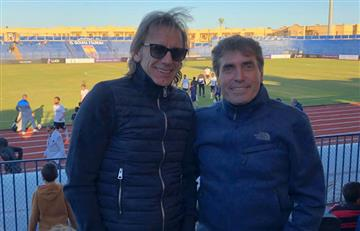 ¿Qué jugadores visitó Gareca en su gira?