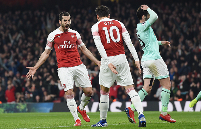 Arsenal goleó 5-1 al Bournemouth (Foto: EFE)