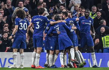 Chelsea venció al Tottenham por la Premier League