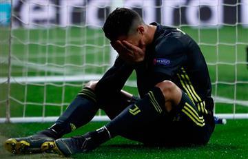 Juventus preocupado por tobillo de Cristiano Ronaldo
