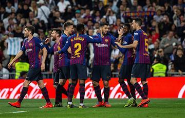 Real Madrid vs Barcelona: los goles del partido