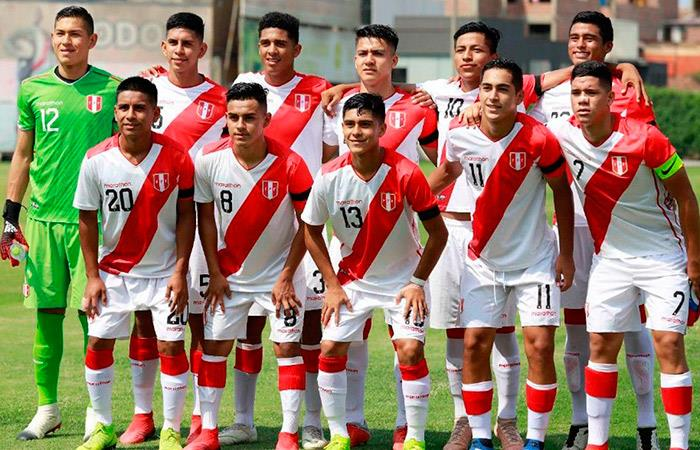 Selección Peruana Sub 17. Foto: Twitter