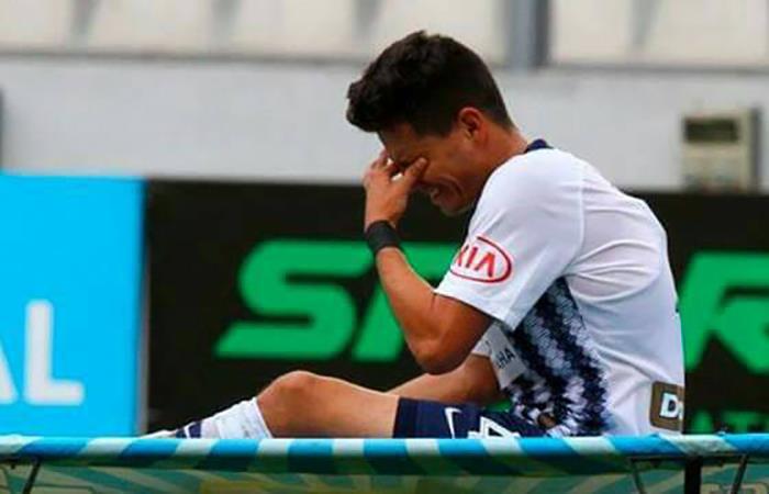 Anthony Roseel será baja para Alianza Lima por los próximos 15 días. Foto: Twitter
