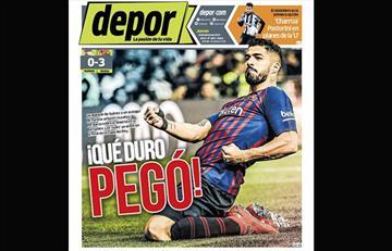 Portadas de los periódicos deportivos locales del jueves 28 de febrero