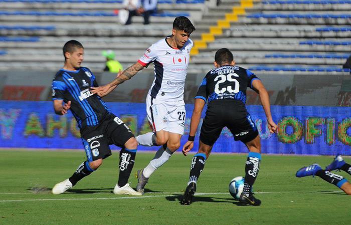 Beto da Silva anotó su primer gol en la Liga MX. Foto: Twitter