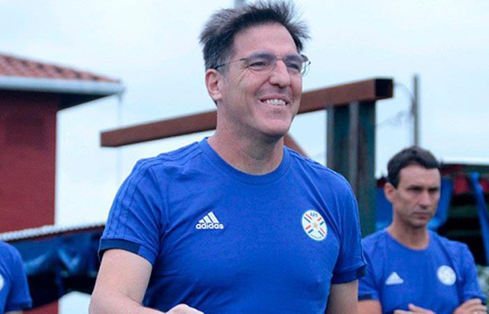Selección de Paraguay convocó a jugadores del exterior para los amistosos. Foto: Twitter