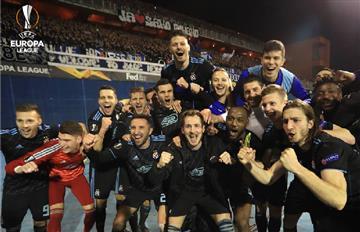 El Dinamo Zagreb venció por la mínima al Benfica por Europa League