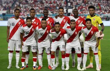 Lista con convocados de la Selección Peruana