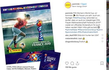 Panini lanzará álbum de fútbol femenino