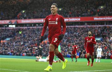 Liverpool ganó y quedó a un punto del City