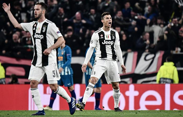 Cristiano Ronaldo abrió el marcador en Turín (Foto: Twitter)