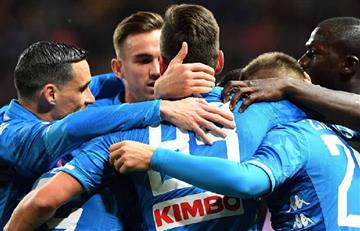 Napoli dentro de cuartos de final de la Europa League