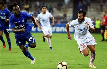 Emelec no pasó del empate ante Huracán en la Libertadores