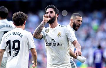 Real Madrid volvió a la victoria