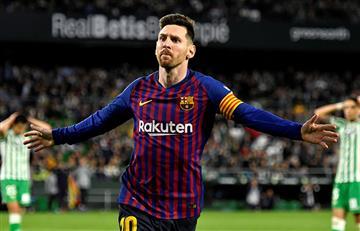¡Tres goles de Messi para la victoria de Barcelona!