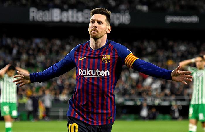 Lionel Messi marcó un hat-trick para Barcelona (Foto: EFE)