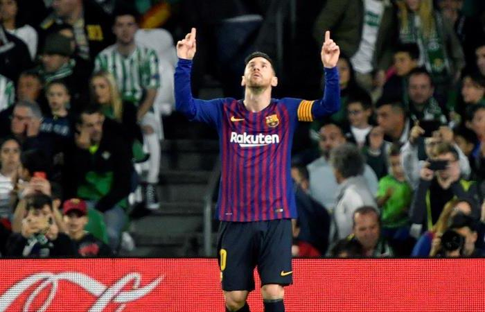 Lionel Messi y los cinco récord que podría batir en la presente temporada. Foto: EFE