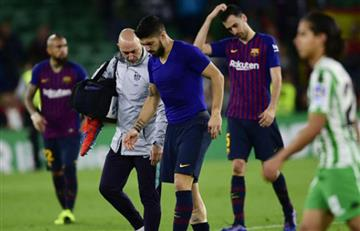 Luis Suárez se pierde amistosos con Uruguay por lesión