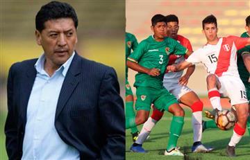 Sudamericano Sub 17: Técnico de Bolivia elogia a Perú