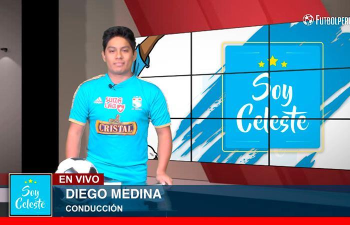 Conéctate todos los miércoles a Soy Celeste por Futbolperuano.com
