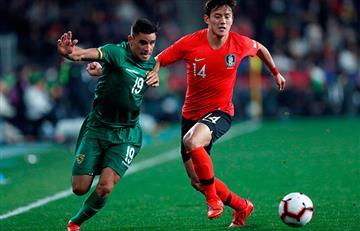 Boliva cayó ante Corea del Sur en un amistoso internacional