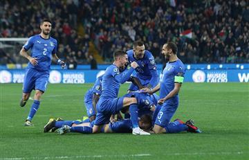Italia venció sin problemas a Finlandia