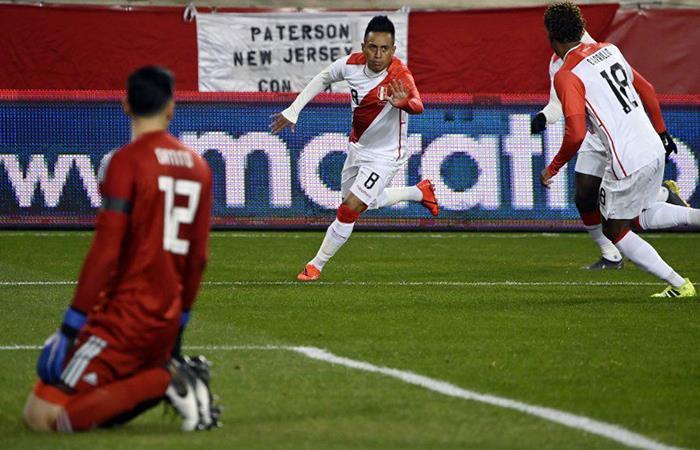 Christian Cueva marcó un golazo a los 4 minutos. Foto: Andina