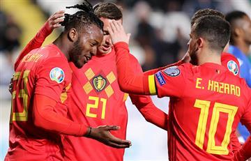 Bélgica logró triunfo ante Chipre por la Eurocopa 2020
