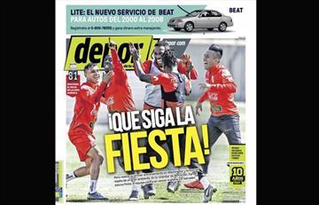 Portadas de los periódicos deportivos locales de este lunes 25 de marzo