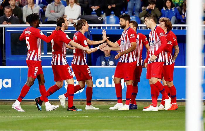 Atlético de Madrid volvió al triunfo en LaLiga (Foto: EFE)