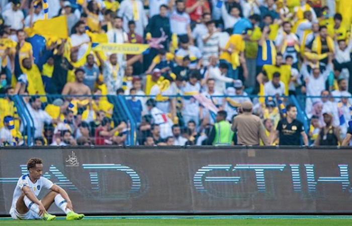 André Carrillo quedó triste con la derrota del Al Hilal (Foto: Instagram André Carrillo)