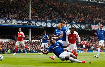 Premier League: Arsenal tropezó ante el Everton y se complica de cara a la próxima Champions