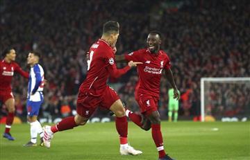 Liverpool derrotó sin problemas al Porto por Champions
